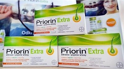 PRIORIN BAYER 60/120/240/360Caps  Anti hair loss Made in Germany Food Supplement