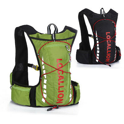 Chic Outdoor Hydration Pack Fishing Running Backpack Cycling Soft Vest Knapsack