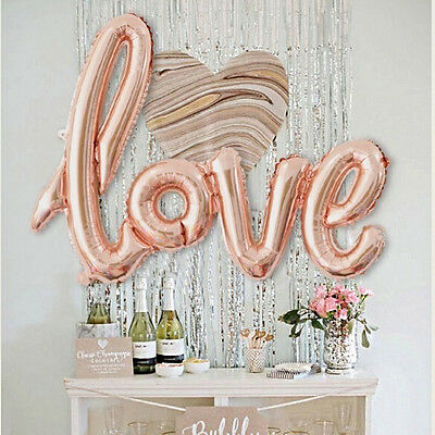 """42""""  Huge LOVE Letter Foil Ballons  Birthday Wedding Party Marriage Decoration"""