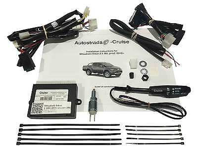 Cruise Control Kit Plug & Play for Mitsubishi Triton 2.5L Turbo Diesel 2010 on