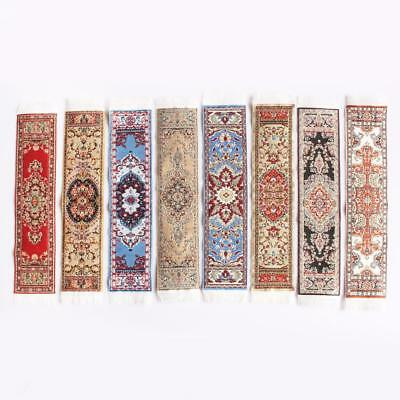 1/12 Scale Woven Rug Carpet Floor Coverings Dolls House Furniture Miniatures