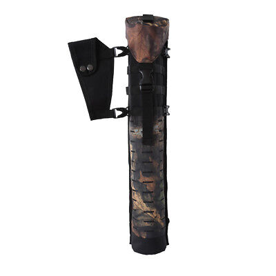 Camouflage Archery Bow Arrow Holder Back Quiver Belt Bag Hunting Accessories