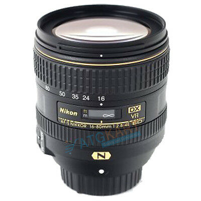 Brand New Nikon AF-S DX NIKKOR 16-80mm f/2.8-4E ED VR White Box Lens