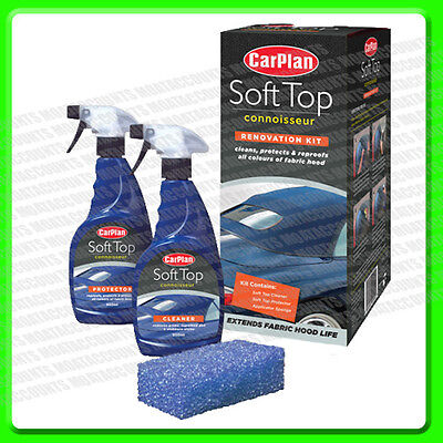 Soft Top Cleaning & Protection Kit For All Colour Roofs [CST001] Renovation   2P