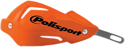 POLISPORT TOUQUET HANDGUARDS ORANGE With Mounts SHIPS FREE