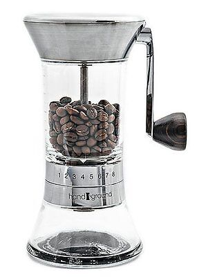 Handground Precision Coffee Grinder – Nickel