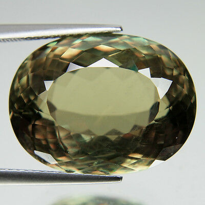 34.35ct AMAZING NATURAL BIG RARE COLOR CHANGE OVAL SHAPE DIASPORE FROM TURKEY