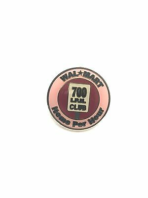 Rare Walmart 700 Items Per Hour Club Wal Mart Lapel Pin Pinback Brand New 062