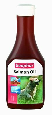 Beaphar Salmon Oil for Dog and Cats For Healthy Skin Condition 425ml