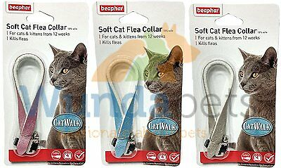 Beaphar Catwalk Fashion Cat Kitten  Collar 3 Pack