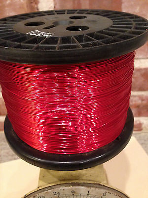 Magnet Copper Wire 26 AWG SNSR 10  Pound spool  Magnetic Coil Winding