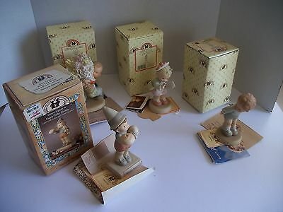 4 Enesco Memories of Yesterday Simple Simon Where's mu Muvver  + more Box Papers
