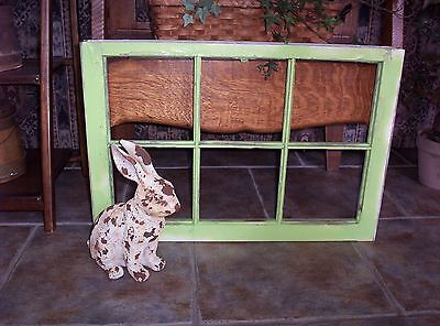 VINTAGE SHABBY SASH ANTIQUE WINDOW PICTURE FRAME PINTEREST 6 PANE No glass