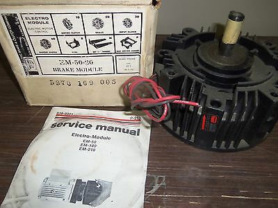 Warner Electric EM 50-20 Electric Brake Module USED