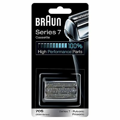 Braun 70S Series 7 Electric Shaver Replacement Foil and Cassette Cartridge
