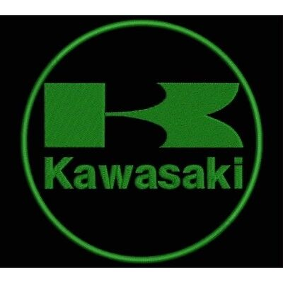 Iron Patch bestickt Patch zona ricamata parche bordado KAWASAKI