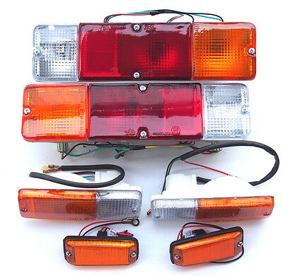 Suzuki Samurai SJ 410 413 1986-1995 Rear Taillight Side Lights Turn Signals 1set