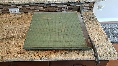 "Large Premier 19"" Paper Cutter Board Trimmer Photo Materials Co."