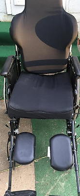 INVACARE 9000XT WHEELCHAIR XT JAY FUSION CUSTIONS van rigid manual used power