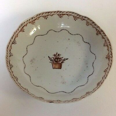 18th C Chinese Export Porcelain Bowl / Saucer / Plate #9
