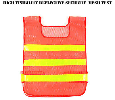 High Visibility Reflective Security Night Work Safety Reflective Mesh Vest