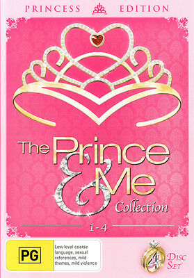 The Prince and Me Collection 1-4  - DVD - NEW Region 4