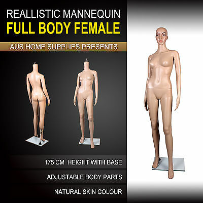 175cm Female Full Body Mannequin Shop Display Window Model Showcase Dress CF-5