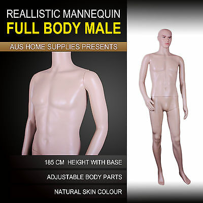 185cm Male Full Body Mannequin Shop Display Window Model Showcase Dress CM1