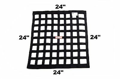 "Off Road Sfi 27.1 Square Ribbon Safety Window Net 24"" X 24"" Any Color"
