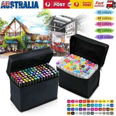 Drawing & Colouring Double-Tip Marker Pen Set for Creating Masterpiece