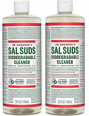 Dr. Bronners BIG 32oz  SAL SUDS (2 Pack)
