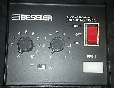 Beseler Audible/Repeating Enlarging Timer Model #8177