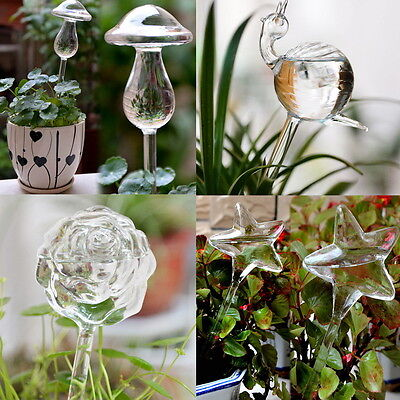 Glass Self Watering Device Automatic Garden Sprinklers Waterer Houseplant Useful