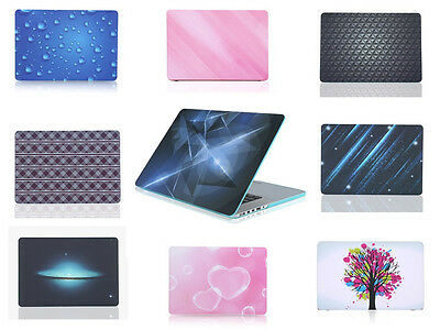 Protector Hard Rubberized Skin Case + Keyboard Cover for Macbook Retina 13.3