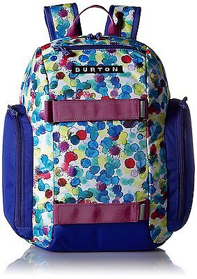 Burton Youth Metalhead Backpack, Rainbow Drops Print, One Size