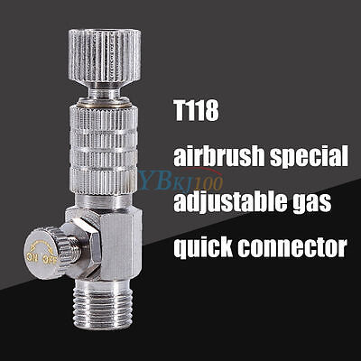 """1 Airbrush Quick Release Disconnect 1/8"""" Plug Adapter Kit Fitting Air Hose"""