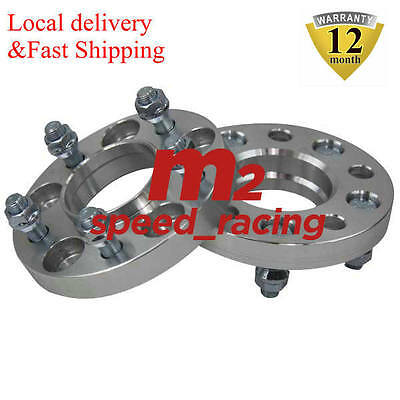 2PCS Wheel Spacers Adapters 5x114.3 FOR HONDA TYPE-R 20mm HUBCENTRIC
