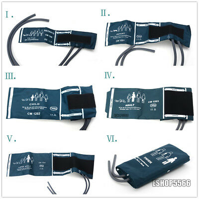 Adult /Child /Infant/Neonatal Blood Pressure Double-tube Cuff for Patient Monit