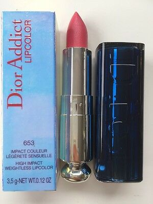 Dior Addict Lipcolor High Impact Lipstick Lippenstift 653 Pink Marquise NEU OVP