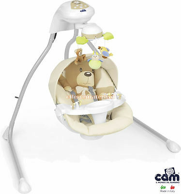 CAM Swing Gironanna Bear col. 219 for nanna and relax of the child childcare