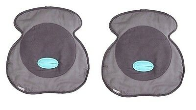2 X Munchkin Cleanride Seat Saver Protector Cover Car Seat Pram Buggy Protection