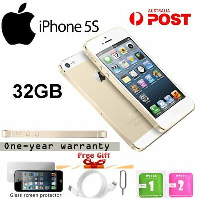 Apple iPhone 5s 32GB Factory Unlocked SIM Free Smartphone Mobile Gold AU