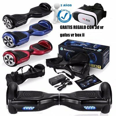 Patinete Eléctrico Skate Scooter Patinaje Hoverboard Self Balancing Bolso Mando