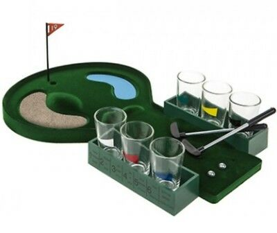 Classic Adult Mini Golf Drinking Game Fun Shots 2-6 Player House Party Garden