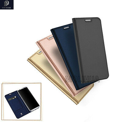 For Samsung Galaxy S9 S8+ Luxury Magnetic Slim Leather Flip Wallet Case Cover