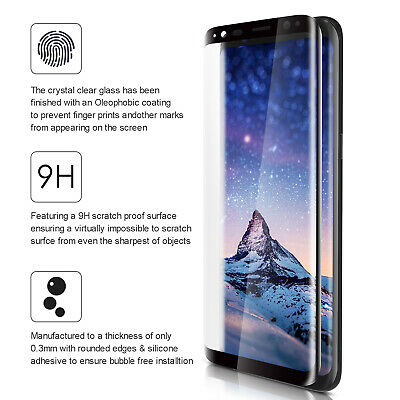 For Samsung Galaxy S9/S8/Plus/Note 8 TPU Shockproof Phone Cover Hybrid Case
