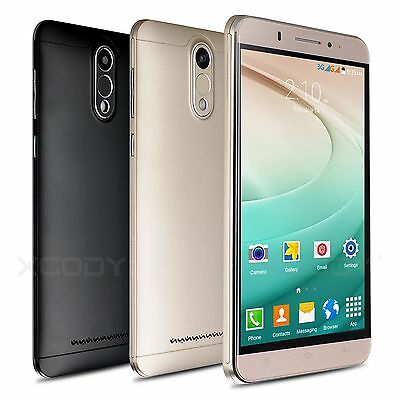 "6"" XGODY Unlocked Android 5.1 Smartphone Quad Core 8GB 3G Dual SIM Mobile Phone"