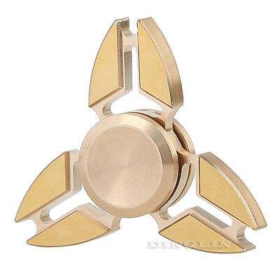 Aluminum Tri Fidget Spinner Hand EDC Finger Spinner Toys Stress Reducer For ADHD