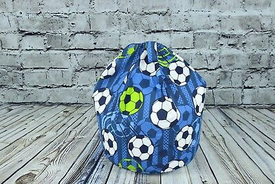 BetterDreams Exclusive Football Bean Bag Chair For Kids Filled Bean Bag