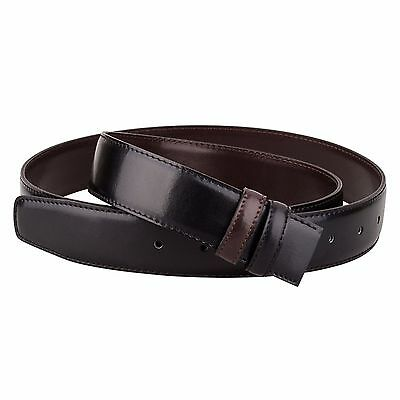 Reversible Leather belt strap Mens Belts montblanc buckles Big and Tall Oversize